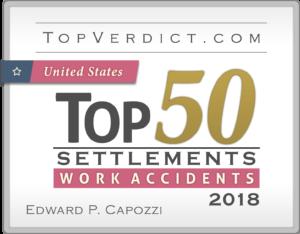TopVerdict.com Top 50 Settlements Work Accidents Icon