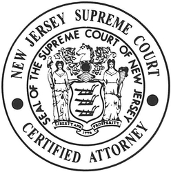 New Jersey Supreme Court Certified Attorney Icon