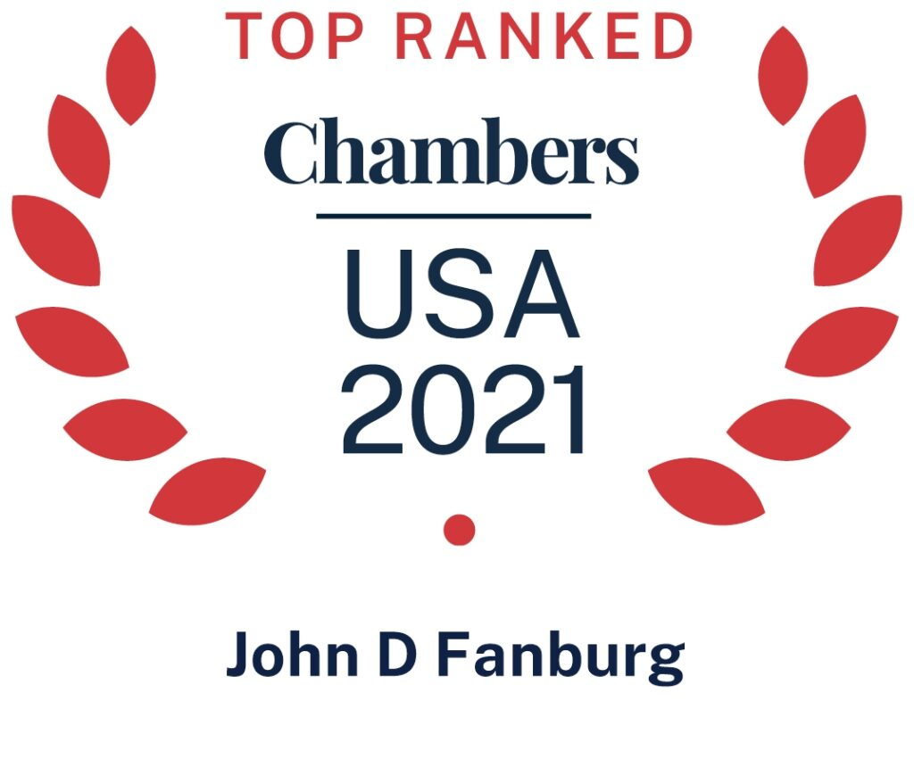 Chambers USA Top Ranked 2021 Icon