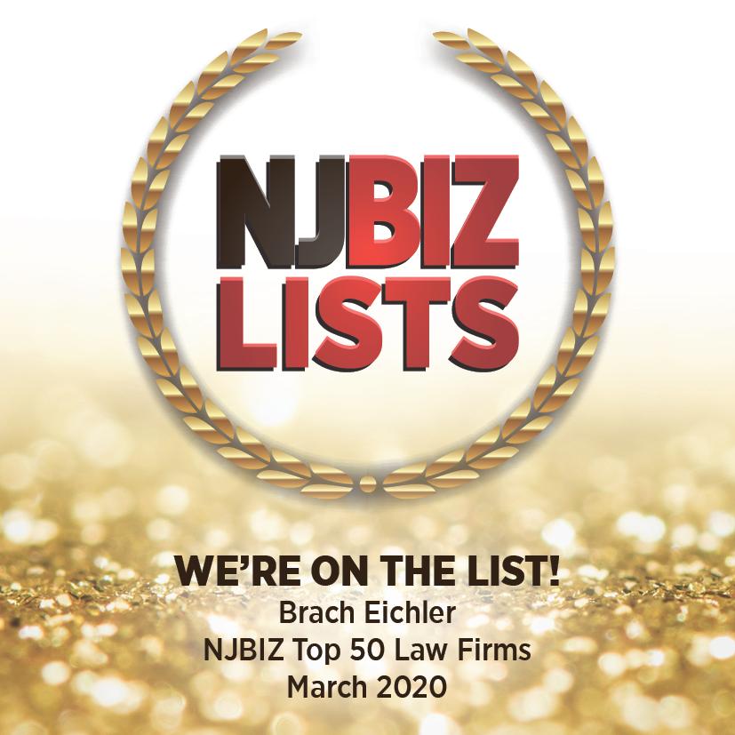 NJBIZ Top 50 Law Firms Icon