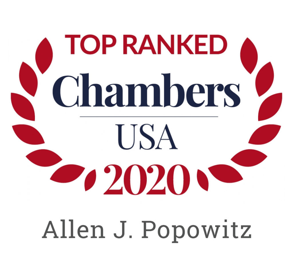 Chambers USA Top Ranked Icon
